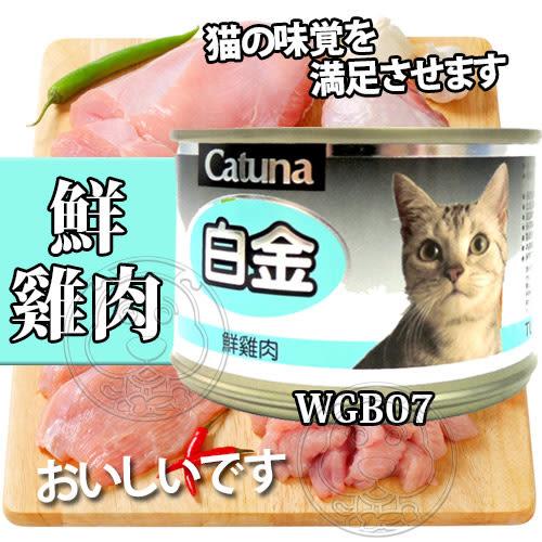 【培菓平價寵物網】Catuna》白金大貓罐(多種口味)-170g