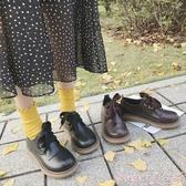 新品娃娃鞋ins小皮鞋復古大頭鞋女韓版學生原宿風ulzzang軟妹娃娃鞋圓頭可愛