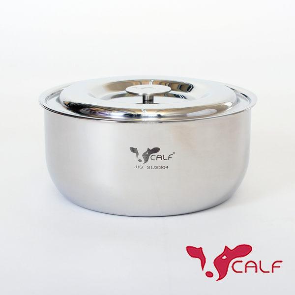 【火鍋季 】牛頭牌 新小牛料理鍋16cm-304不鏽鋼湯鍋電鍋內鍋 耐酸鹼抗氧化導熱快