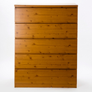 特力屋 復古類松木紋五抽櫃 90公分 採E1板材