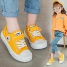 小寶寶餅干鞋兒童高筒板鞋女童帆布鞋2019新款秋冬男童加厚小白鞋