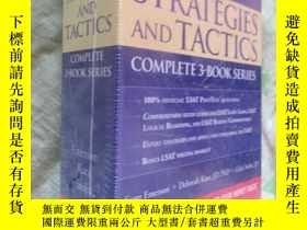 二手書博民逛書店Kaplan罕見LSAT Strategies and Tact