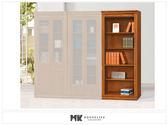 【MK億騰傢俱】ES613-05蘇格蘭檜木實木3*6.5尺開放式書櫃