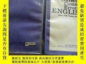 二手書博民逛書店Correcting Common Errors罕見in ENG