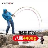魚竿 海竿套裝海桿拋竿釣魚竿組合全套遠投竿碳素海釣竿甩竿魚竿桿漁具 小艾時尚 NMS