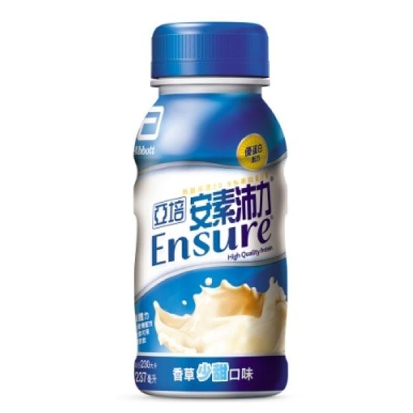 亞培 安素 沛力優蛋白配方-香草少甜口味 (237ml/24瓶/箱)成箱出貨【杏一】