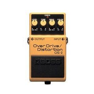 BOSS OS-2 破音效果器【Overdrive / Distortion / 過載 / OS2 / 電吉他單顆效果器】