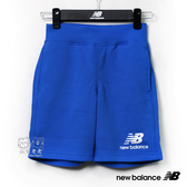 New Balance 童裝 2019新款 藍色 LOGO 運動褲 短褲 童褲 NO.H2550