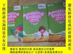 二手書博民逛書店學而思網校罕見Amazing English Level 6 (unit 1-5)(unit 6-13)(unit