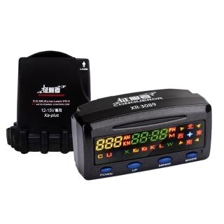 『 征服者 XR-3089 室外機雷達全配 』分離式GPS測速器/偵測流動式照相訊號/區間測速提示/盲點抗擾