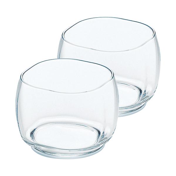 日本TOYO-SASAKI 迷你玻璃容器2入組 170ml