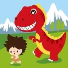 LOVIN 超萌韓版數字油畫 恐龍系列-G05霸王龍1幅