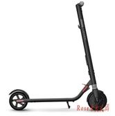 電動滑板車成人ES1智能折疊便攜兩輪平衡成年代步車智慧平行車LXY3487【Rose中大尺碼】