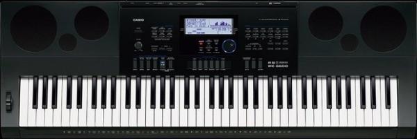 ☆唐尼樂器︵☆ CASIO 卡西歐 WK-6600 76鍵電子琴(全新高階琴款,附琴袋超值配件現場教學)
