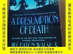 二手書博民逛書店A罕見PRESUMPTION OF DEATH JILL PATON WALSH & DOROTHY L.SAYE