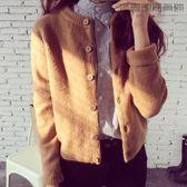 針織衫開衫寬鬆外搭毛衣外套