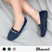 豆豆鞋 銜扣質感豆豆鞋 MA女鞋 T3085