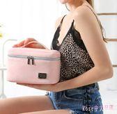韓版旅行便攜簡約軟妹可愛少女化妝包大容量化妝品收納包 DR7775【Rose中大尺碼】