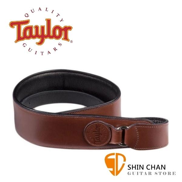 Taylor Badge Leather 皮製背帶【適用民謠吉他/電吉他/電貝斯/型號:64003】