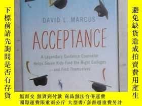 二手書博民逛書店英語原版罕見Acceptance by David L. Mar