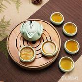 功夫家用簡約整套陶瓷家用茶壺  Dhh6830【男人與流行】