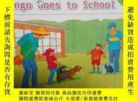 二手書博民逛書店Bingo罕見goes to school..Y12498