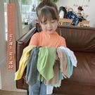 小布丁童裝2020秋裝新款女童洋氣純棉打底衫兒童長袖T恤寶寶上衣 怦然心動