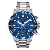 ◆TISSOT◆新上市  熱賣款 SEASTAR 1000 海星潛水計時碼表T120.417.11.041.00 藍面