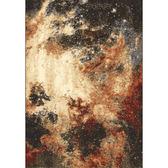 莫爾地毯160x235cm烈焰