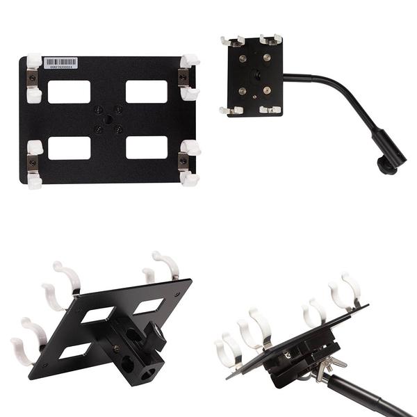 ◎相機專家◎ Nanlite 南光 HD-T12-2-BHG 雙管燈管夾帶萬向接座 適條燈 15C 30C 南冠 公司貨