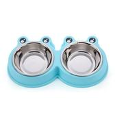 狗碗貓碗雙碗自動飲水狗盆狗食盆