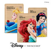 韓國 THE FACE SHOP 迪士尼聯名 公主面膜 25g 迪士尼公主 面膜 小美人魚 保濕  亮白