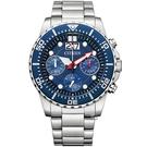 CITIZEN 星辰 關鍵任務三眼計時腕錶(AI7001-81L)