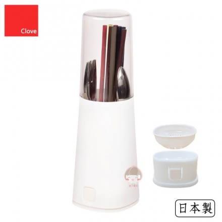 【日本PEARL】Clove 可拆卸直立式筷筒(白色)‧日本製