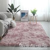 北歐ins地毯客廳茶幾臥室滿鋪可愛網紅同款床邊毛毯地墊子 晴天時尚
