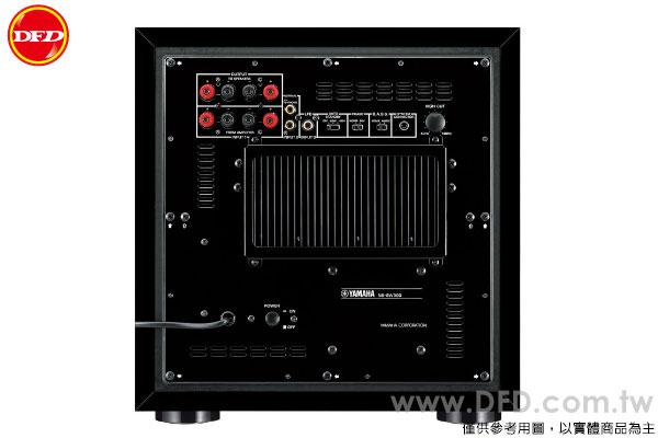 YAMAHA 山葉 NS-SW300 超低音 鋼烤黑 獨家技術 Twisted Flare Port 公司貨