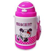 【Hello Kitty 凱蒂貓】彈跳式保冷水壺 400ml