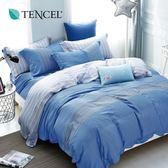 天絲 Tencel 威爾斯 床包冬夏兩用被 加大四件組  100%雙面純天絲