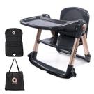 【輸入RE200 現折200】APRAMO FLIPPA摺疊式兒童餐椅-魔法金 原QTI【贈椅墊+收納袋+企鵝杯+防掉帶】