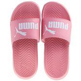Puma Popcat 女鞋 拖鞋 休閒 粉紅 白 LOGO【運動世界】 36026525