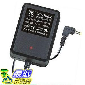 [玉山最低比價網] 新英安規 電子式 AC 110~240V to DC 3V 1000mA 內徑2.1 外徑5.5 變壓器 (_M47)