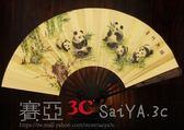 扇子折扇中國風扇子絲綢大絹扇