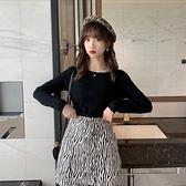 毛衣上衣針織衫圓領打底衫女裝內搭寬鬆針織長袖上衣薄款毛衣T432B-9083.胖胖唯依