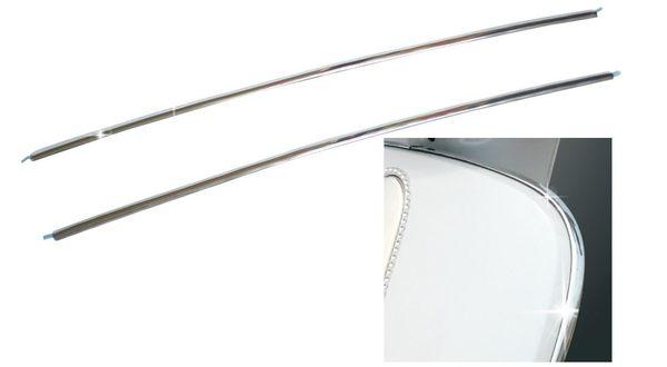 KYMCO 光陽機車 MANY50/100/110 DIY隨意貼電鍍邊緣飾條貼紙套裝組