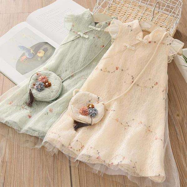 寶寶連身裙 女童洋裝 兒童漢服裙子