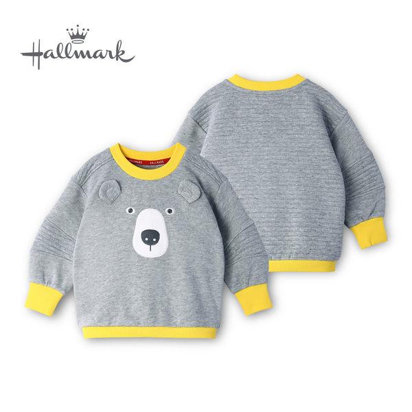 【網路獨家款】Hallmark Babies 大灰熊長袖衛衣 HH8-B14-01-KU-MG