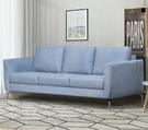 【歐雅居家】里瑟鋼骨布沙發-三人座-灰藍 / 沙發 / 布沙發 /三人沙發 / 12層內材
