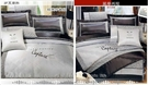 秋登場『銀豹˙魅力』銀*╮☆七件式絲緞高級精梳棉床罩組(6*6.2尺)