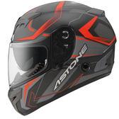 【東門城】ASTONE GTR N55 (平碳纖紅) 全罩式安全帽 雙鏡片