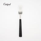 葡萄牙Cutipol-EBONY系列-黑柄霧面不鏽鋼-17.5cm點心叉
